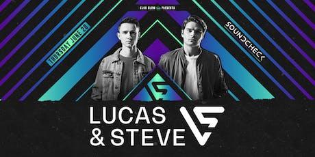 Lucas & Steve tickets