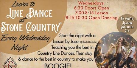 Wednesday Night Line Dance with DJ Switch  tickets