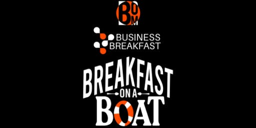 Business Breakfast on a Boat - Supercharging Your Content Marketing