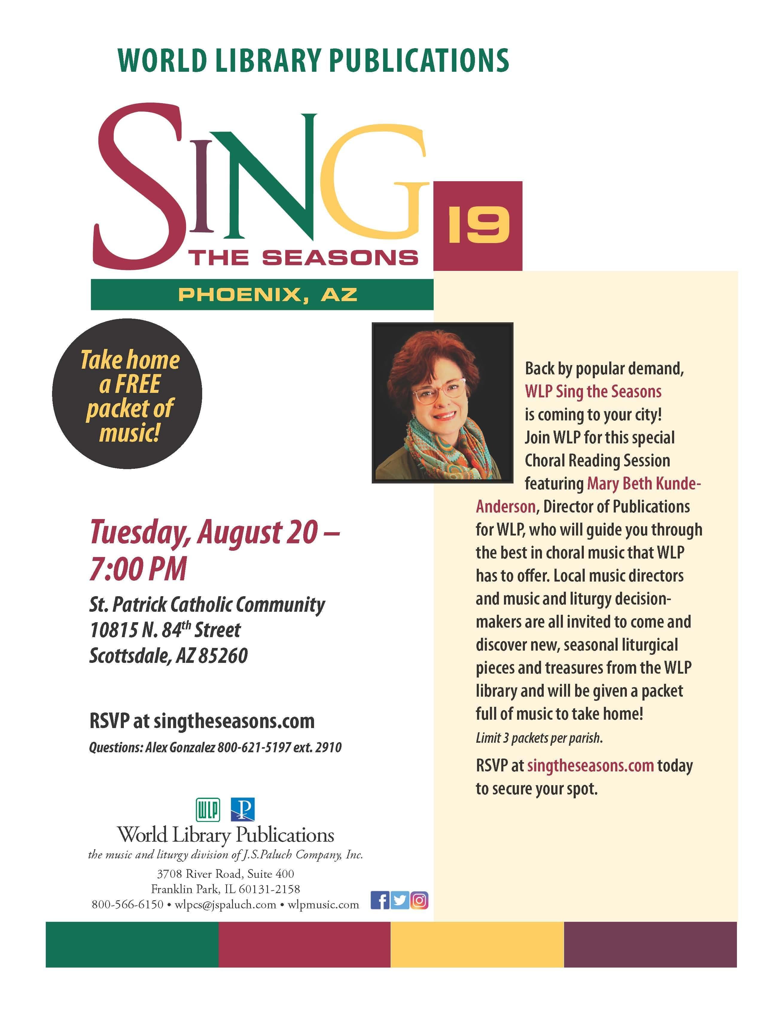 SING THE SEASONS - PHOENIX, AZ
