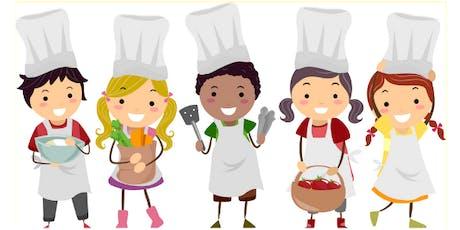 Junior Chefs: Italian and Gardening tickets