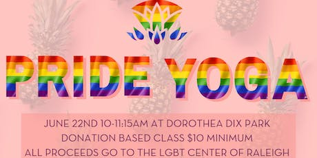 Raleigh Raw Pride Yoga tickets