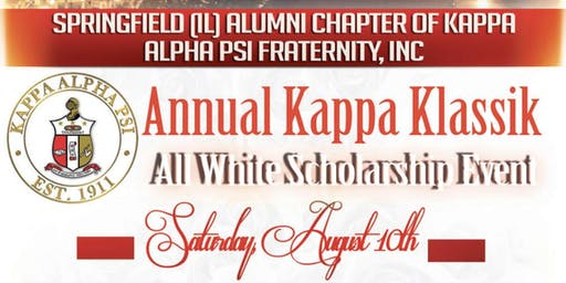 Annual Kappa Klassik All White Scholarship Event