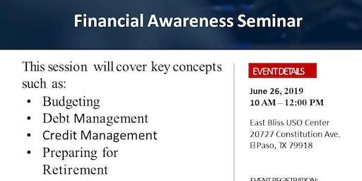 Financial Awareness Seminar