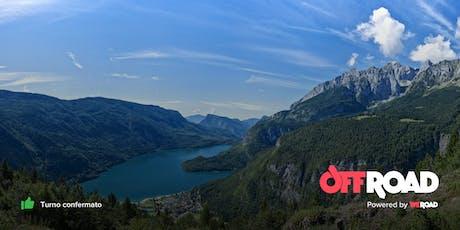 OffRoad: Trentino, laghi azzurri e castelli da fiaba biglietti