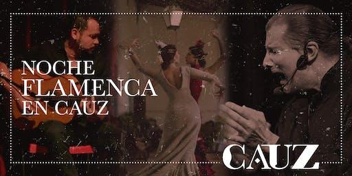 Noche flamenca en Cauz
