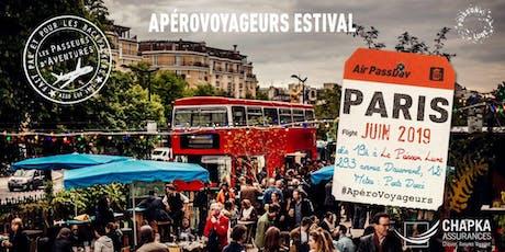 ApéroVoyageurs Paris chaque mardi de Juin au Poisson Lune  billets