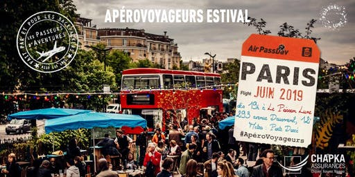ApéroVoyageurs Paris chaque mardi de Juin au Poisson Lune