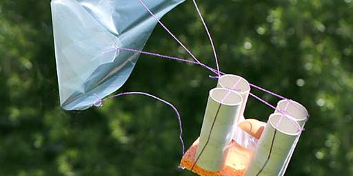 BPB Kid's Club: FREE FALL - CANOPIES, PARACHUTES AND WINGS (3-8)