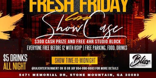 Fresh Fridays Artist Showcase