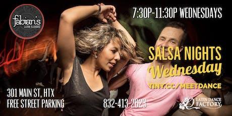 Free Tropical Salsa Wednesday Social @ Fabian's Latin Flavors 08/14 tickets