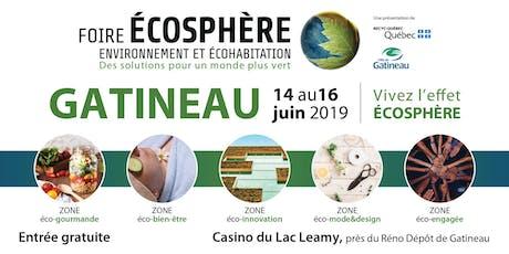 Foire Écosphère de Gatineau billets