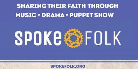 Spoke Folk Returns to First Lutheran, Ellicott City   Dinner & Concert tickets