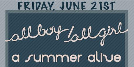 A Summer Alive,All boy/all girl,Red Light Radical,Ichthyosaur tickets