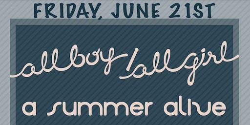 A Summer Alive,All boy/all girl,Red Light Radical,Ichthyosaur