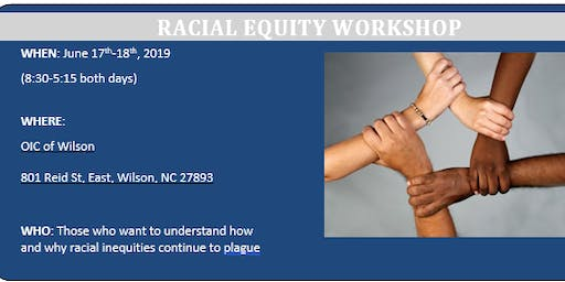 Racial Equity Workshop- Phase 1