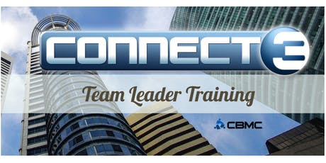 CBMC Connect3 Team Leader Training tickets