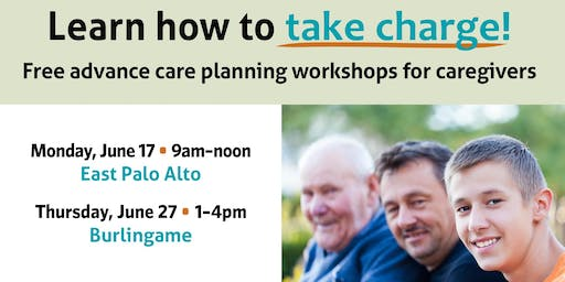 Take Charge! Advance care planning for caregivers