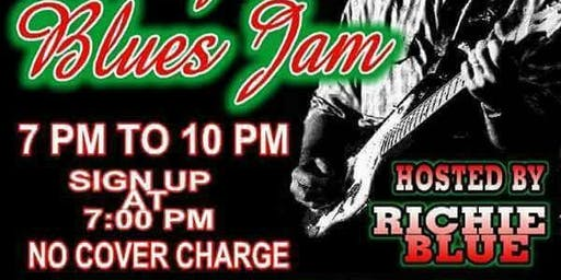 Hump Day Blues Jam Hosted By Richie Blue