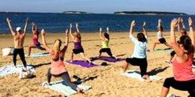 Yoga on the Beach with doTERRA oils