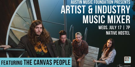 Artist & Industry Music Mixer featuring The Canvas People tickets