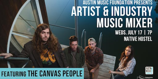 Artist & Industry Music Mixer featuring The Canvas People