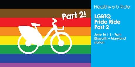 LGBTQ Pride Ride Part 2 tickets