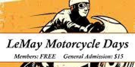 Club EagleRider Presents: Bikes, Bacon, and Ride series - LeMay Motorcycle Days with EagleRider Seattle tickets