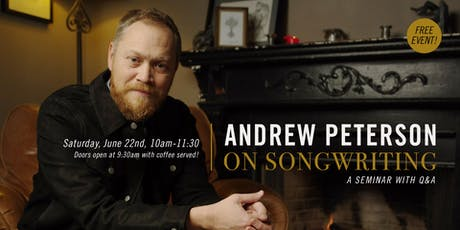 Immanuel Nashville Presents Andrew Peterson on Songwriting tickets