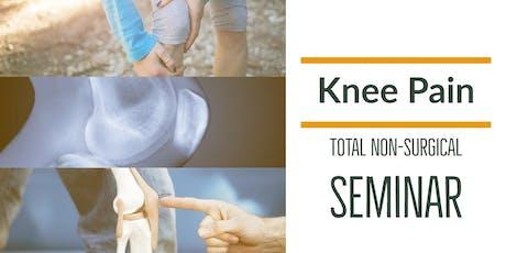 FREE Non-Surgical Knee Pain Elimination Dinner Seminar - Beaverton/Hillsboro, OR tickets