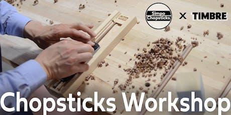 Chopsticks Making Workshop tickets
