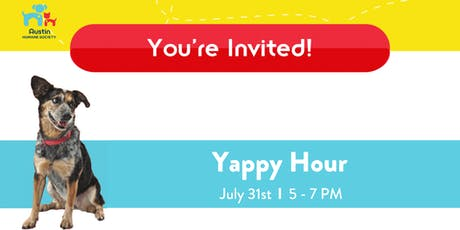 Yappy Hour at the Austin Humane Society tickets