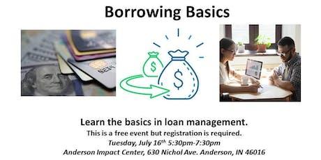 Borrowing Basics tickets
