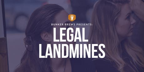 Bunker Brews PHL: Legal Landmines tickets