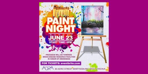 Paint Night at Club Aura