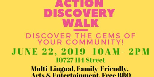 Queen Mary Park's Action Discovery Walk!