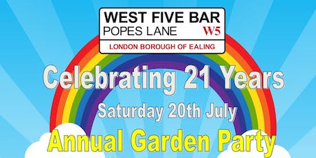 Celebrating 21 Years Of West Five Bar tickets