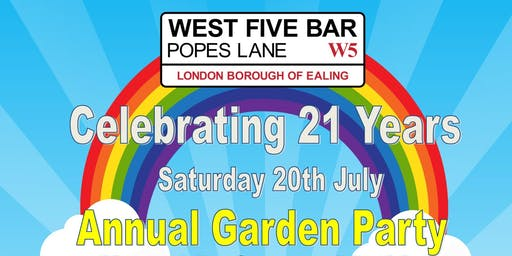 Celebrating 21 Years Of West Five Bar