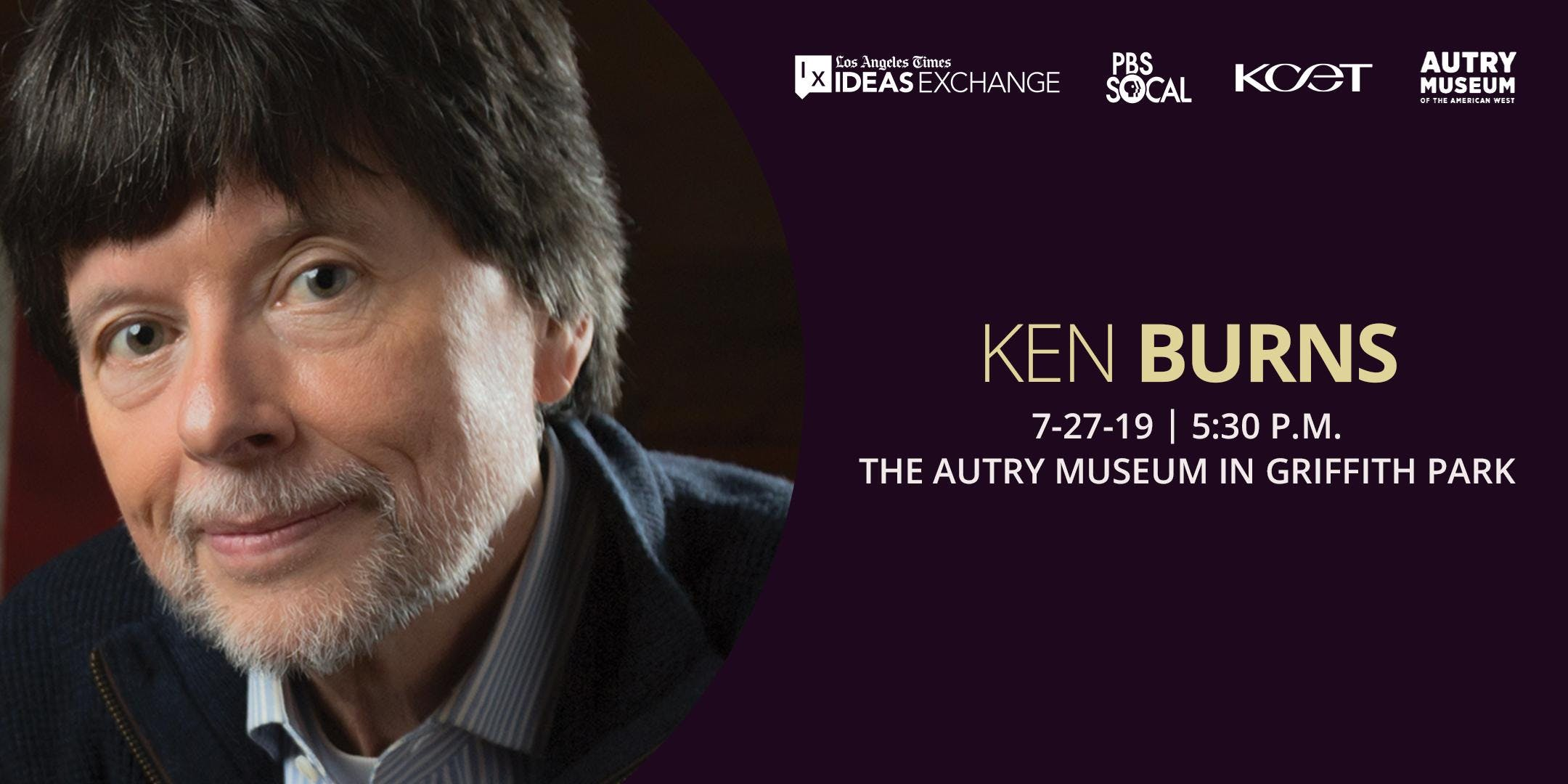 Los Angeles Times Ideas Exchange with Ken Burns