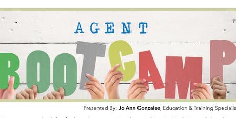 Agent Boot Camp Session 3 @ Independence Title - Crownridge Center tickets