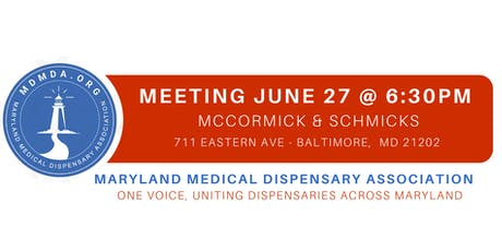 Maryland Medical Dispensary Association MEMBERSHIP MEETING tickets
