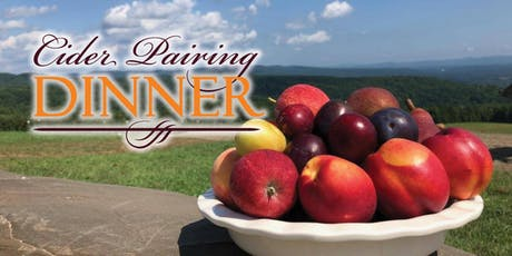 Cider Pairing Dinner tickets