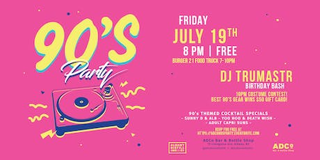 90's Party at ADCo  tickets