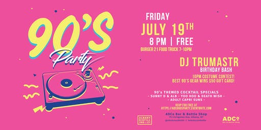 90's Party at ADCo