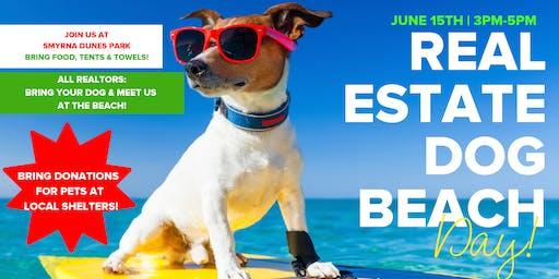 Real Estate Dog Beach Day!