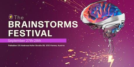 The Brainstorms Festival - Human Future Tech biglietti