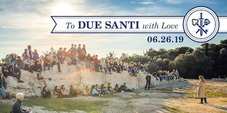 Due Santi Happy Hour at Lamberti's tickets