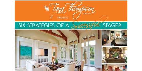 Six Strategies of Successful Staging  tickets