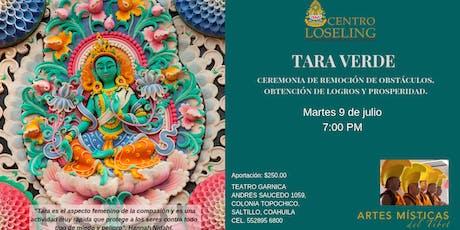 Artes Místicas del Tibet. Ceremonia de Tara Verde. entradas