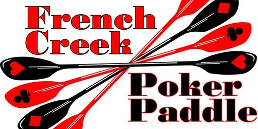 French Creek Poker Paddle 2019